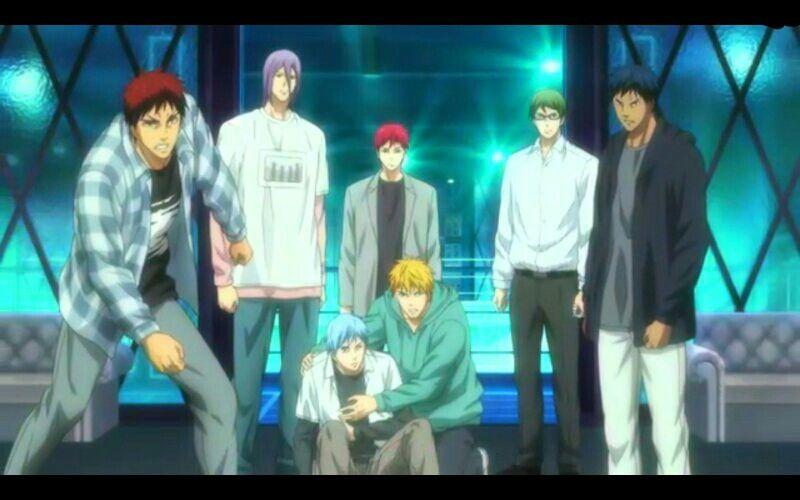 Generation Of Miracles Kuroko No Basuke Last Game Kuroko No Basket Kuroko No Basket Characters Kuroko