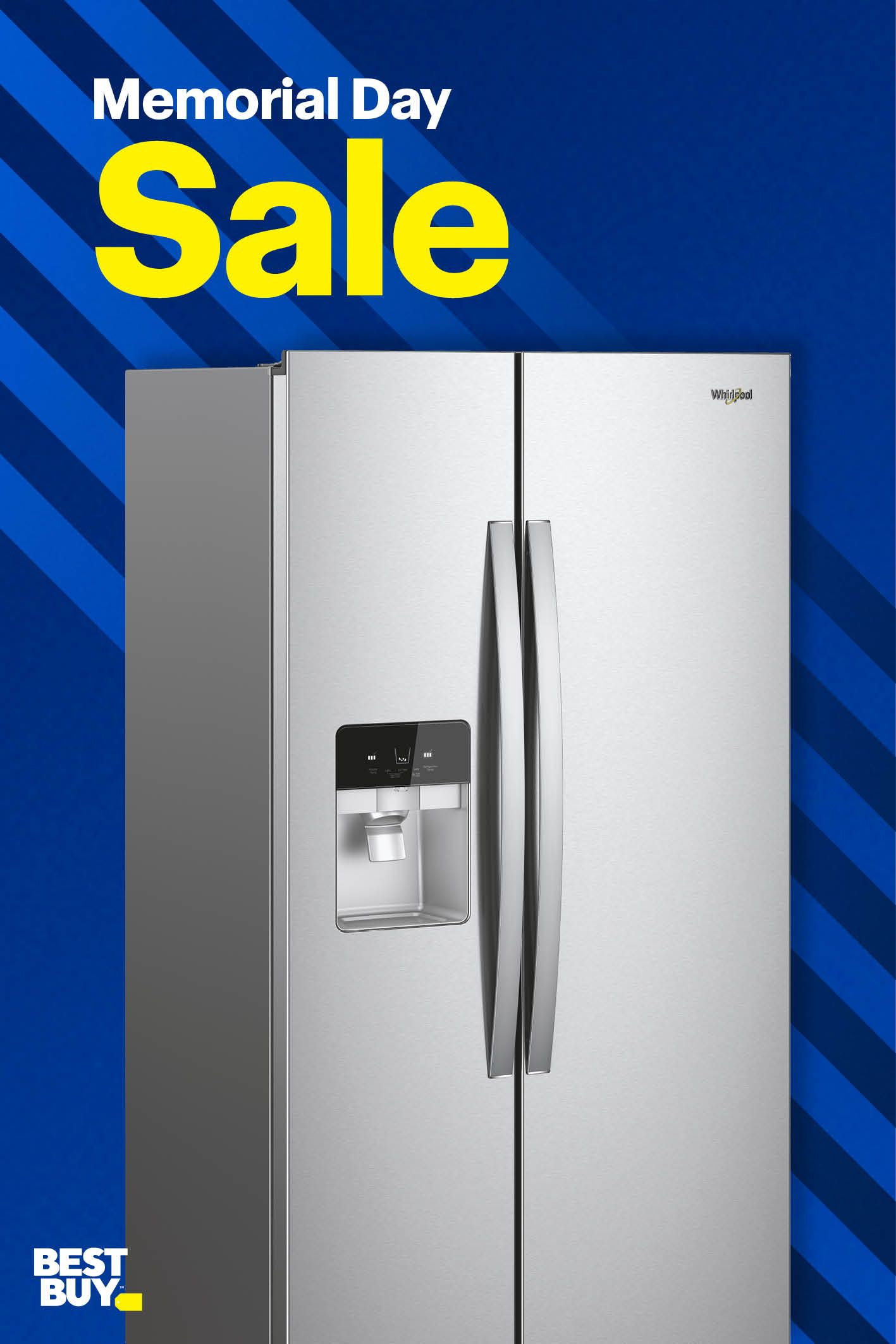 Save On Whirlpool Side By Side Refrigerators Now During