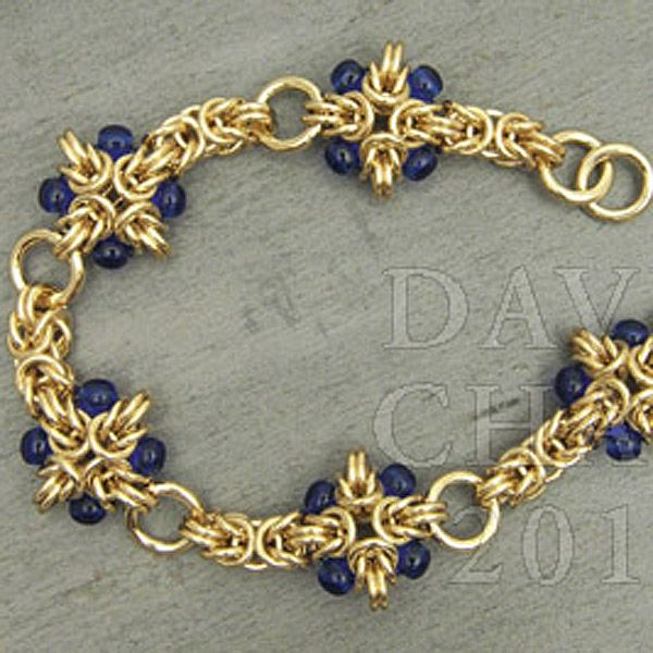 Make A Chain Mail Bracelet: ... Beaded Cross - Aussie