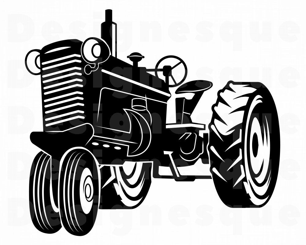Tractor 13 Svg Tractor Svg Farm Tractor Svg Tractor Etsy In 2021 Tractor Clipart Tractors Svg