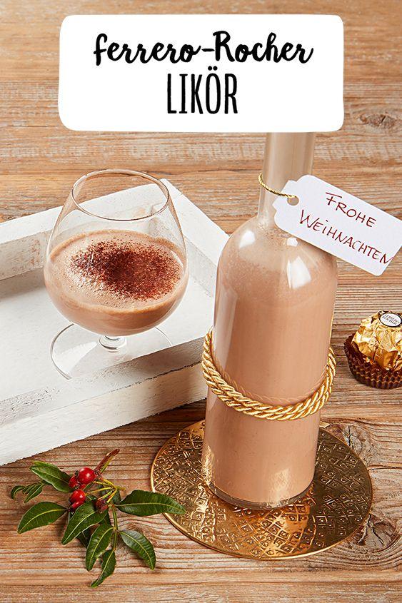 Photo of Ferrero Rocher liqueur