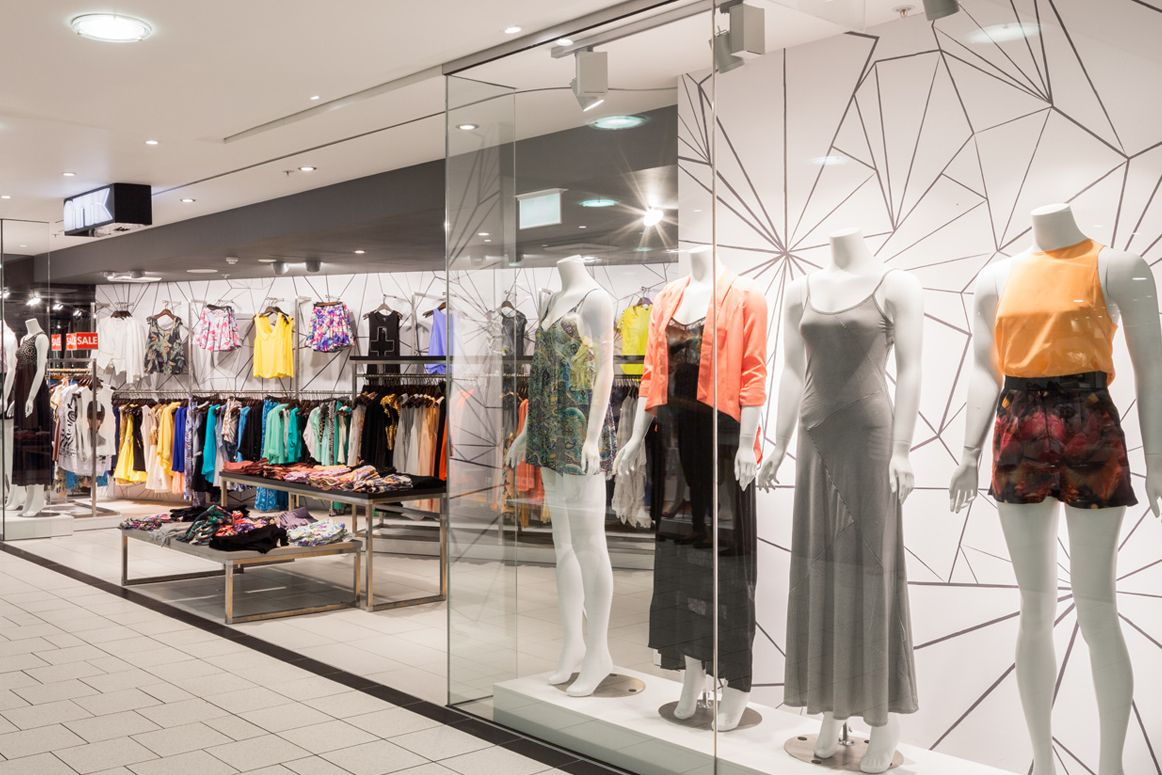 Attik Clothing - Met Centre Sydney - Store and Wall Graphic Design by McCartney Design