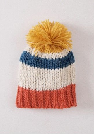 Knitted Striped Hat from Spanish Bobo Choses  23c1b7d7eeb