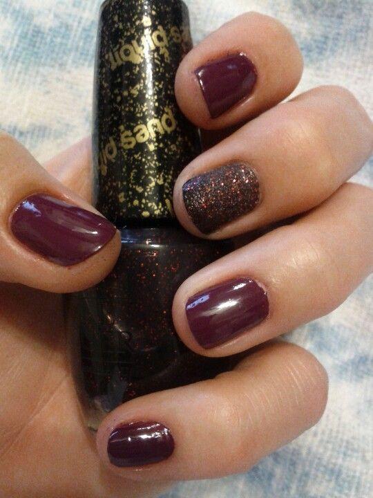 how to make liquid sand nail polish