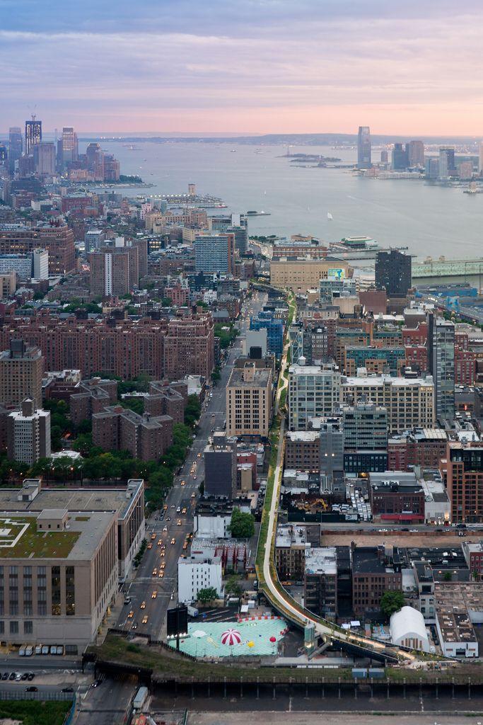 high line park new york nueva york patrimonio recuperado espacios publicos parque industrial natural Iwan Baan