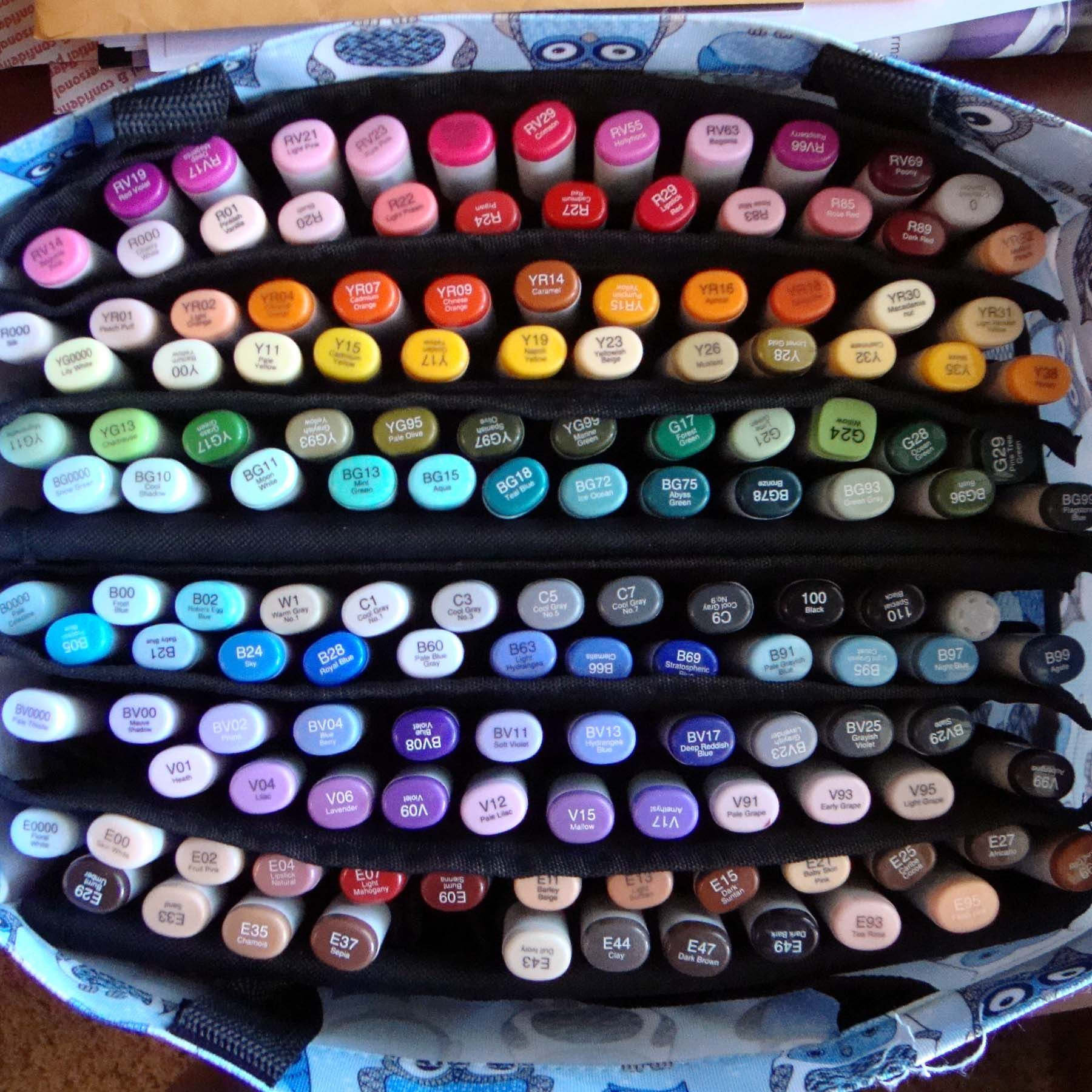 Copic Blends - Love this! So useful. | Copic Coloring | Pinterest ...