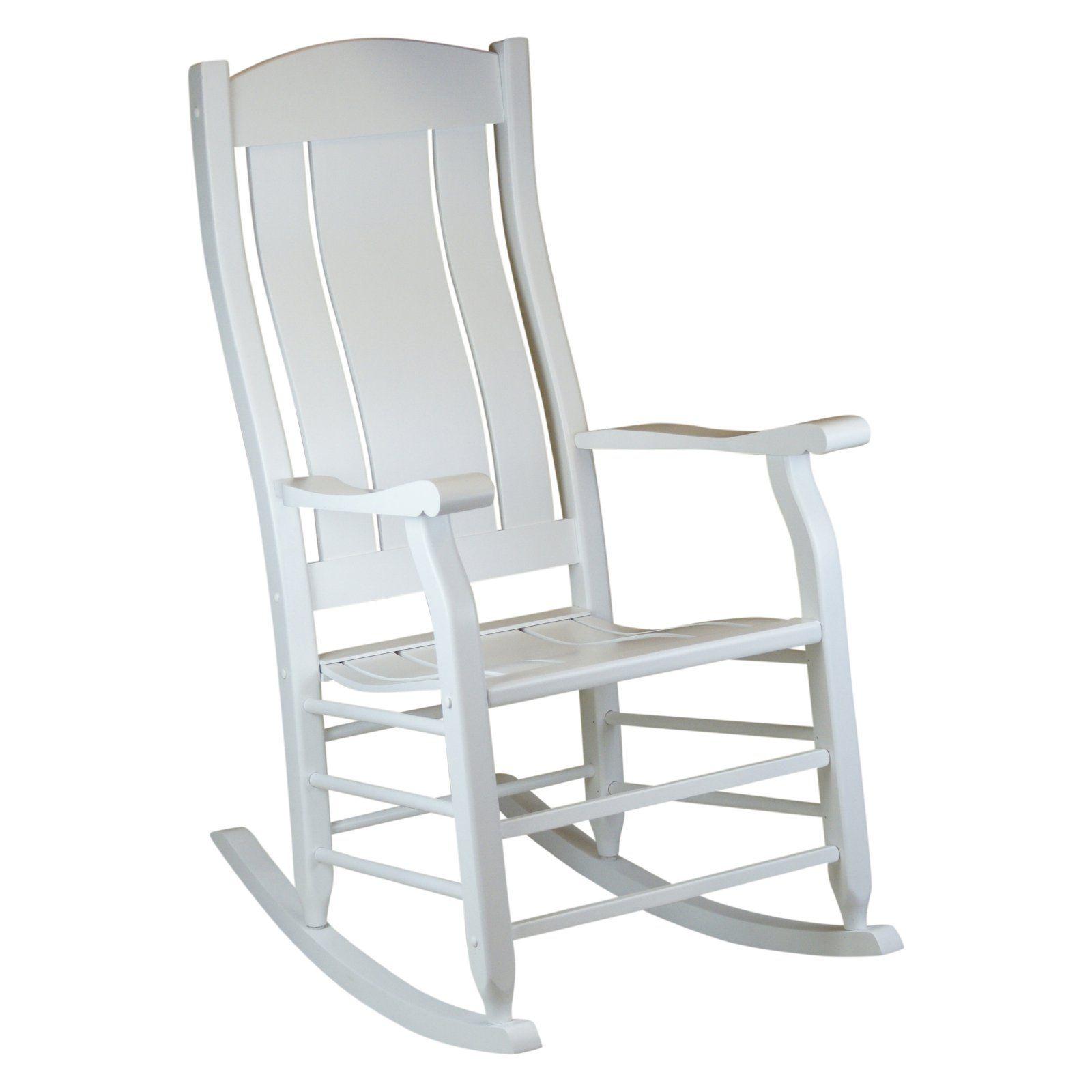 Strange Outdoor Hinkle Carrington Slat Back Wood Patio Rocking Chair Theyellowbook Wood Chair Design Ideas Theyellowbookinfo