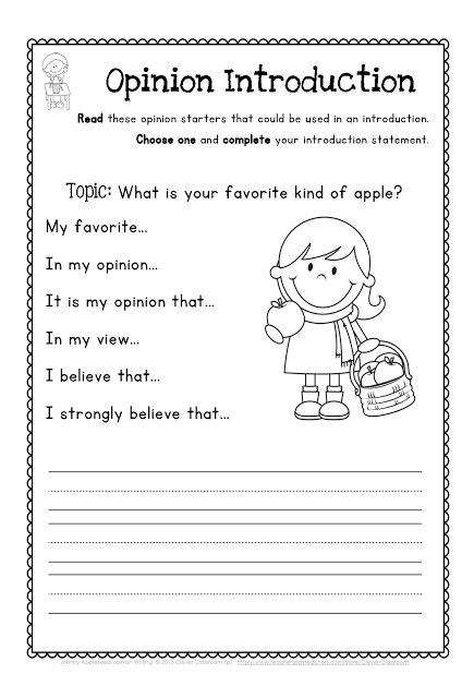Johnny Appleseed Opinion Writing First And Second Grade Opinion Writing First Grade Writing Persuasive Writing