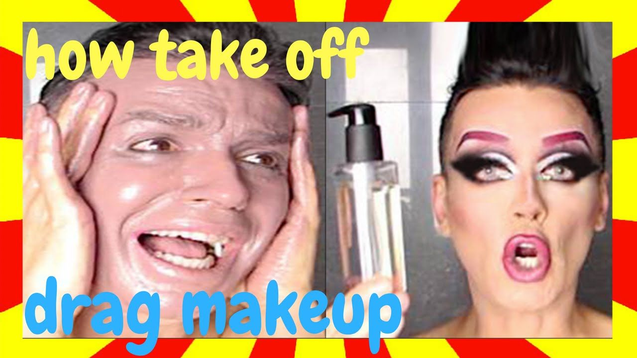 How to take off drag queen makeup tutorial my work pinterest how to take off drag queen makeup tutorial baditri Images