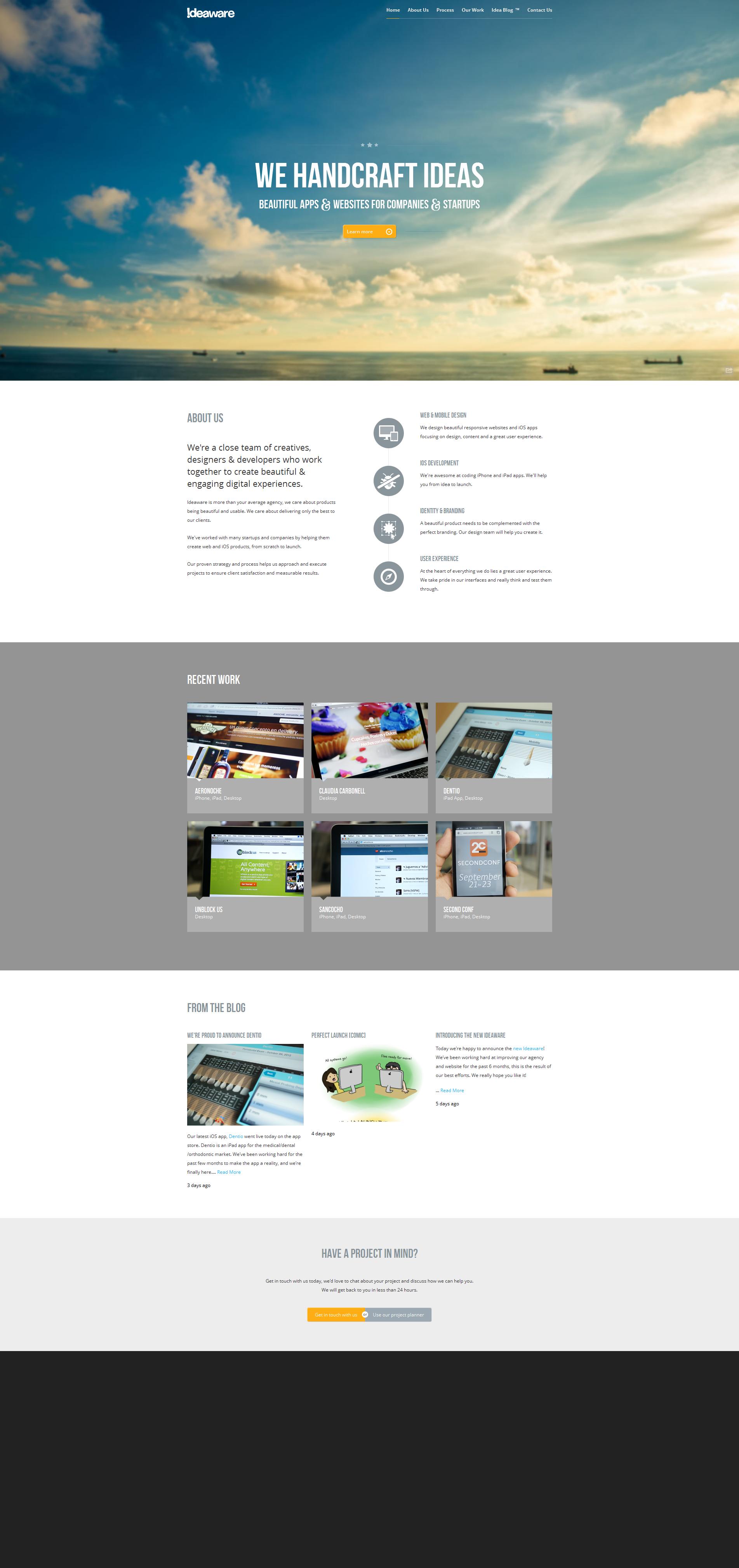 Portfolio Inspiration Http Toopixel Ch Interface Utilisateur Agence De Communication Mise En Page Web