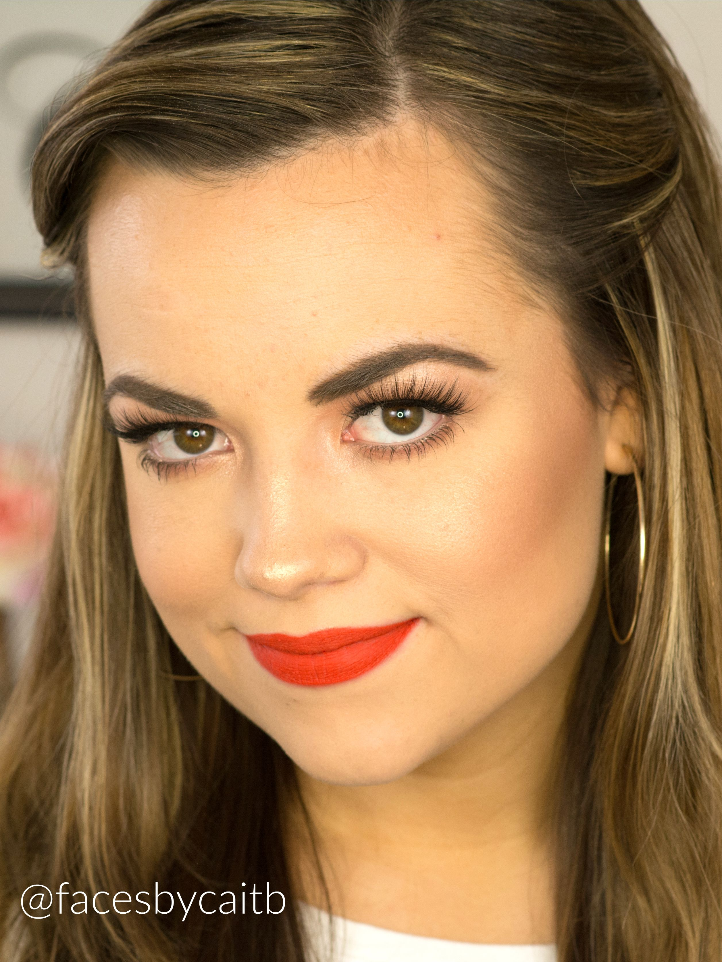 How to even out your eyelids without surgery youtube - Orange Red Lipstick Makeup Tutorial Youtube Com Facesbycaitb