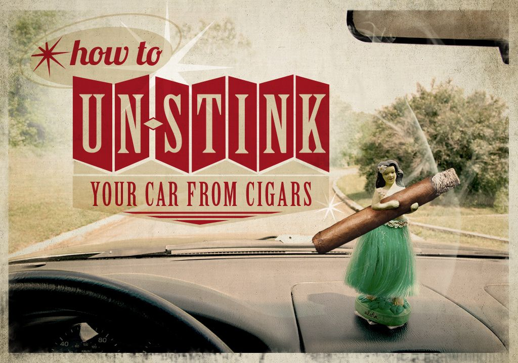 How to unstink your car eliminate cigar smell cigars