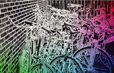 Bike Yard Bike City Photo Neon Signs