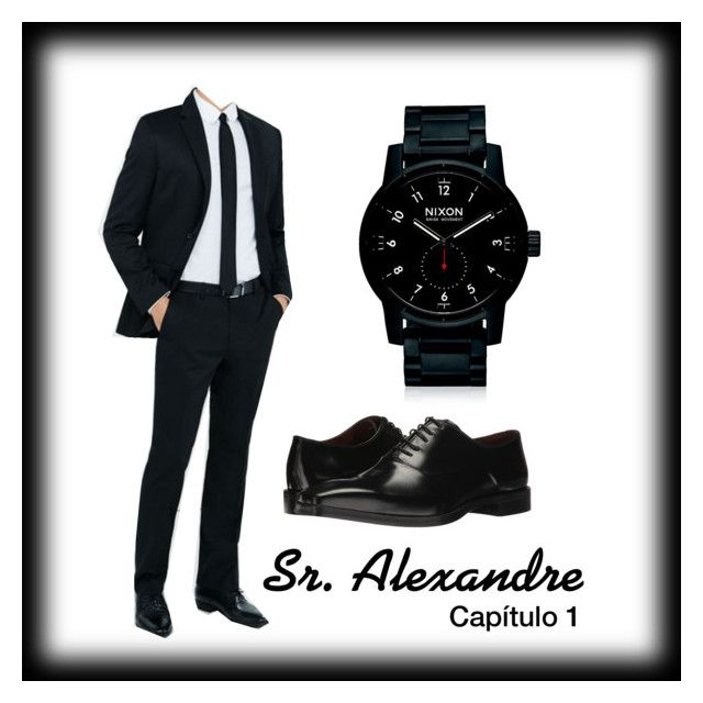 """Sr. Alexandre - Capítulo 1"" by lycanthropy-0 on Polyvore featuring Express, Nixon, Massimo Matteo, men's fashion e menswear"