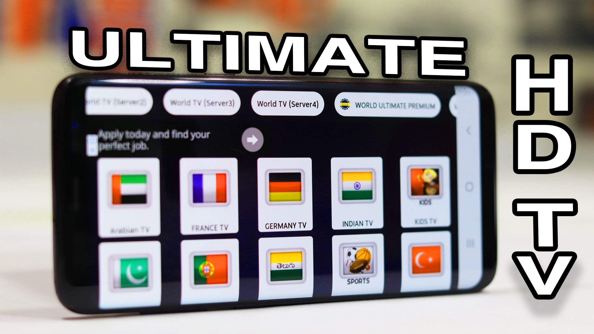HDTV ULTIMATE APK IS AN EXCELLENT LIVE TV AND LIVE SPORTS