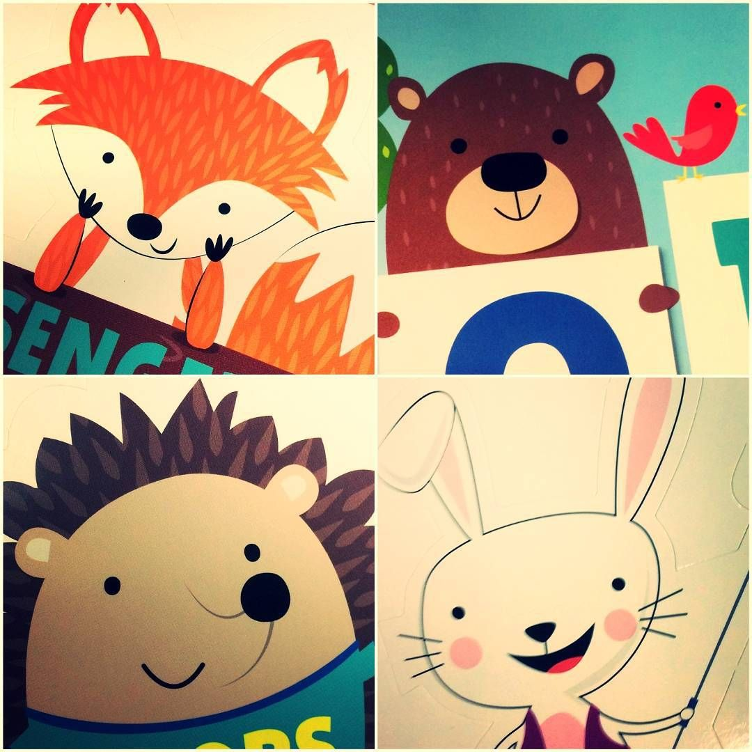 Hedgehog Classroom Decor : They are all here you know the fox and hedgehog but now