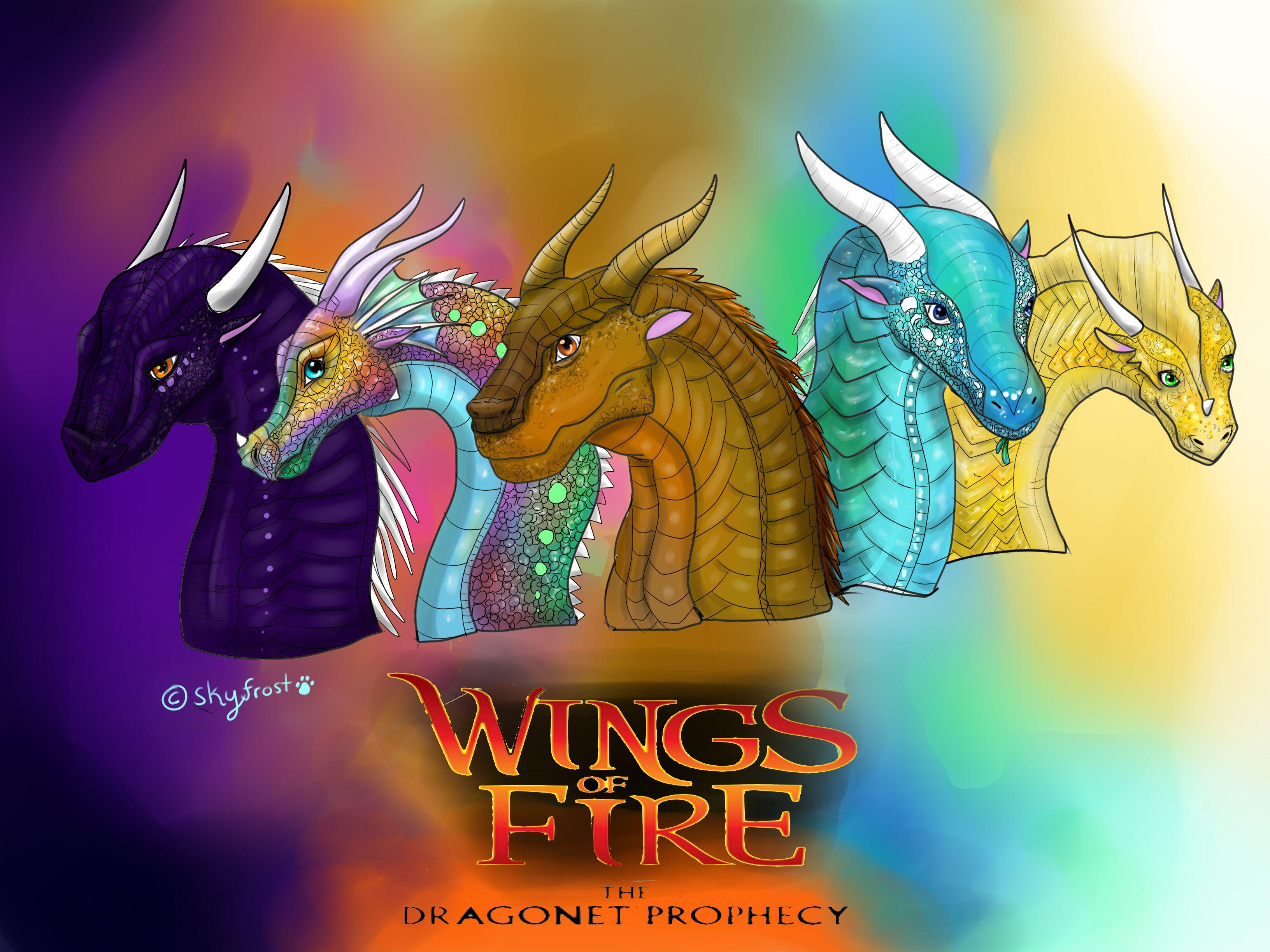 Wings Of Fire The Dragonets Of Destiny By Xxskyfrost