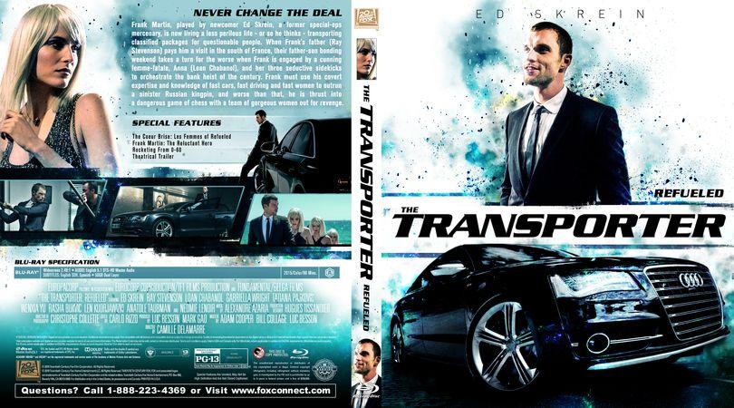 The Transporter: Refueled (2015) Blu-ray Custom Cover ...