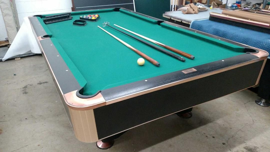 Canada Billiards 9 Foot Black Crown For Sale | Pool tables for