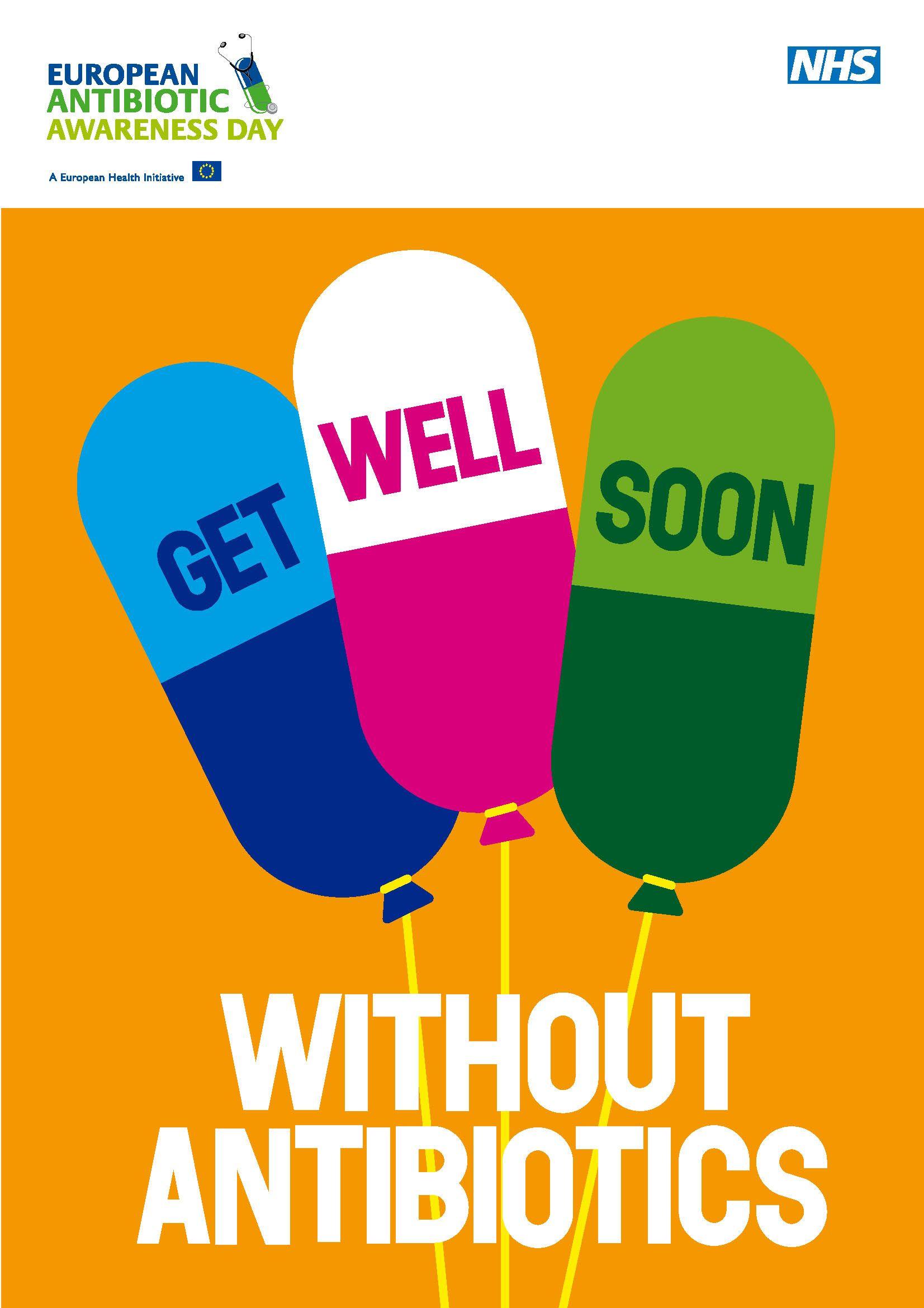 European Antibiotic Awareness Day poster