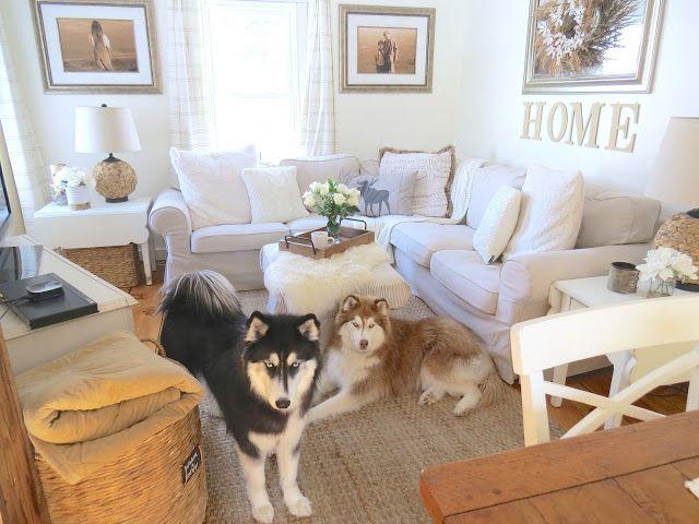 The Long Awaited Home Ikea Ektorp Sectional Sofa Update