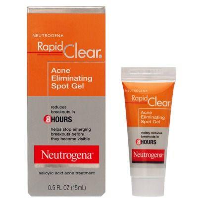 Neutrogena Rapid Clear Acne Eliminating Spot Gel Clear Acne