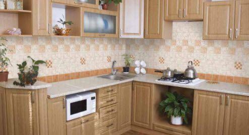 Como decorar una cocina con ceramica5 ceramica para for Ceramica para cocina