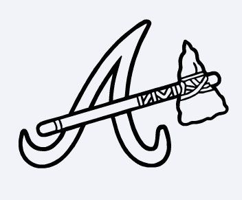 braves mascot coloring pages - photo#20