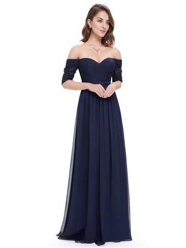 dfea2d9954 Off-the-Shoulder Evening Gown with Sweetheart Neckline - Ever-Pretty ...