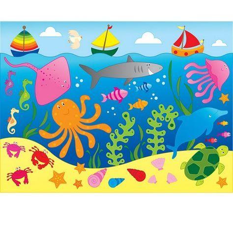 Dibujos Fondo Mar Para Imprimir Imagenes Y Dibujos Para Imprimir Drawing For Kids Art For Kids Preschool Crafts