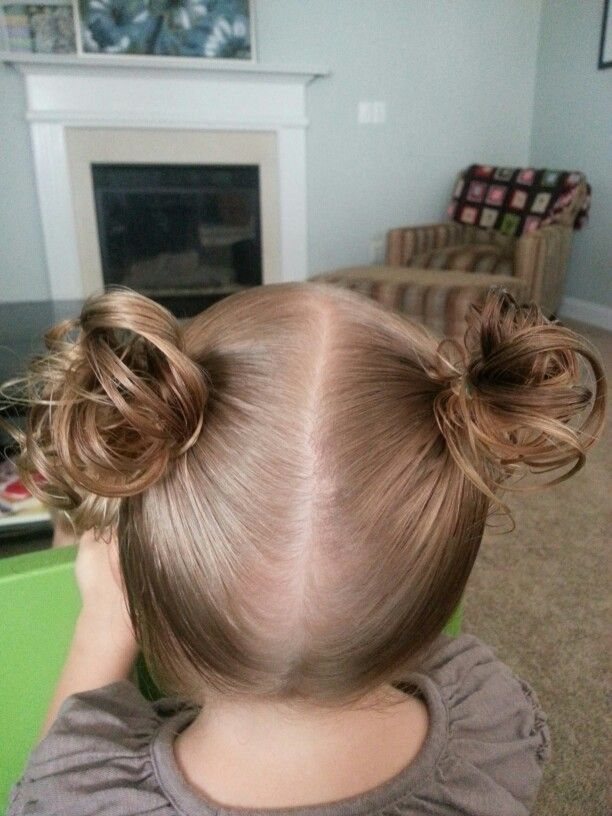 Messy Piggies Toddler Hairstyles For Thin Short Hair