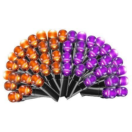 Philips Halloween LED Color Changing Purple/Orange String Lights