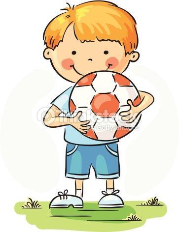 Dibujos De Niños Jugando Futbol A Color Cerca Amb Google