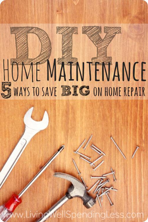 Photo of DIY Home Maintenance Tipps, um viel zu sparen | Gut leben, weniger ausgeben®