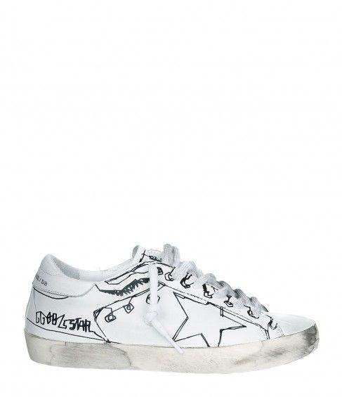 Chaussures De Sport Superstar D'oie Blanche D'or 65Vxmog5Ug