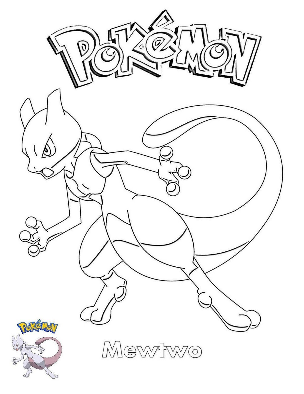 Mega Mewtwo Y Coloring Page Pokemon Coloring Pages Pokemon Coloring Pokemon Coloring Sheets