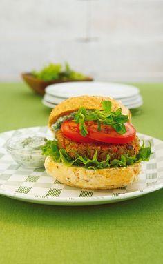 Linsen-Burger - smarter - Zeit: 40 Min. | eatsmarter.de
