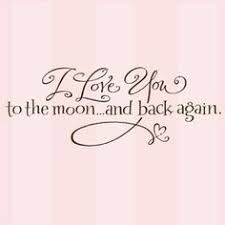 Image result for to the moon and back tattoo designs