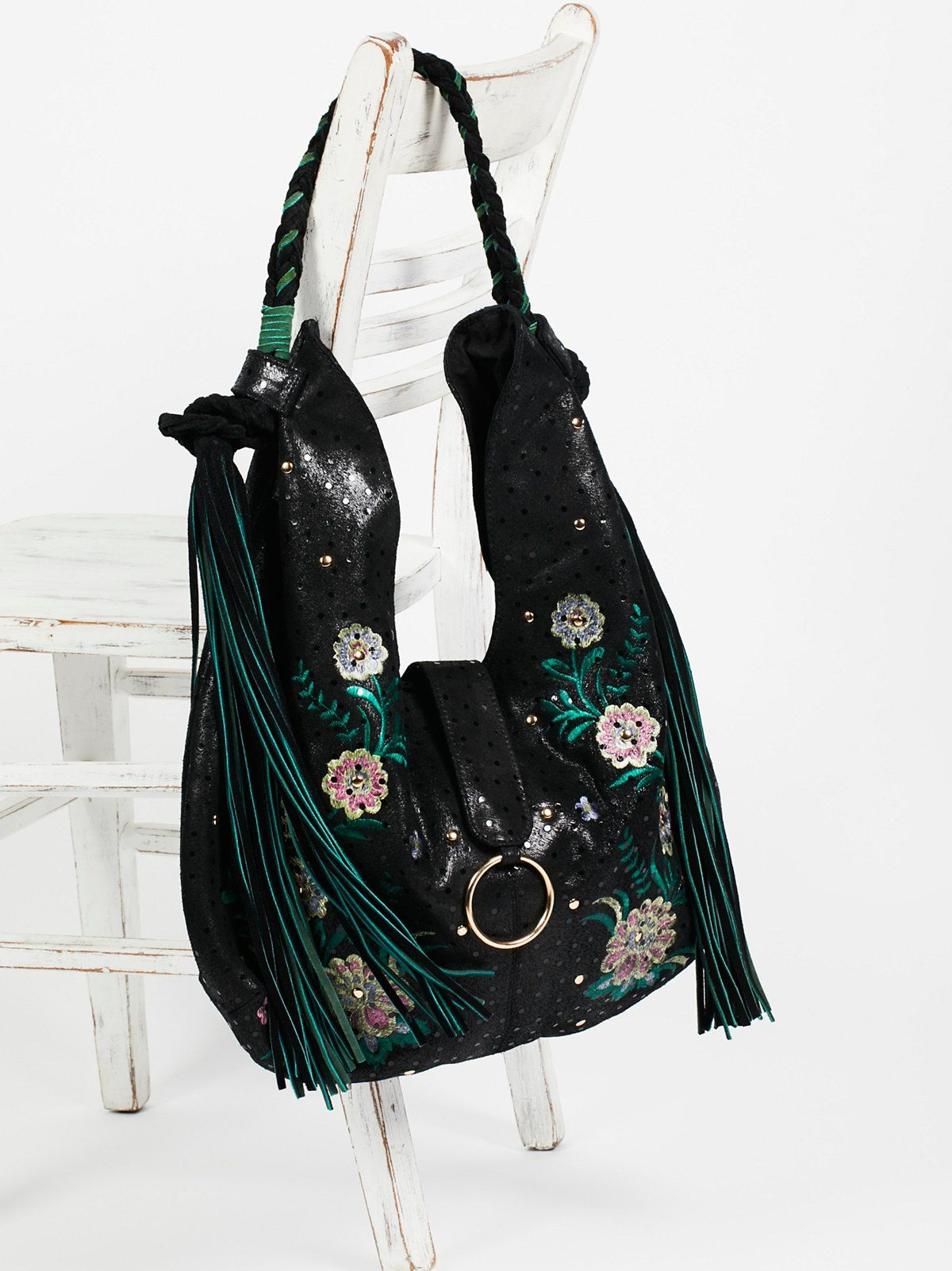 a8234a5907 Monarch Embroidered Hobo