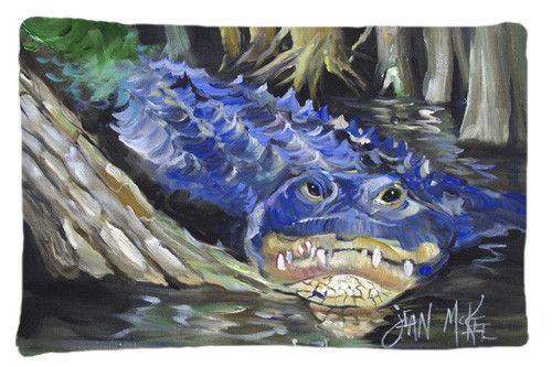 Blue Alligator Fabric Standard Pillowcase JMK1135PILLOWCASE