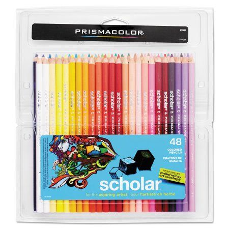 Arts Crafts Sewing Prismacolor Colored Pencils Coloring Book Art