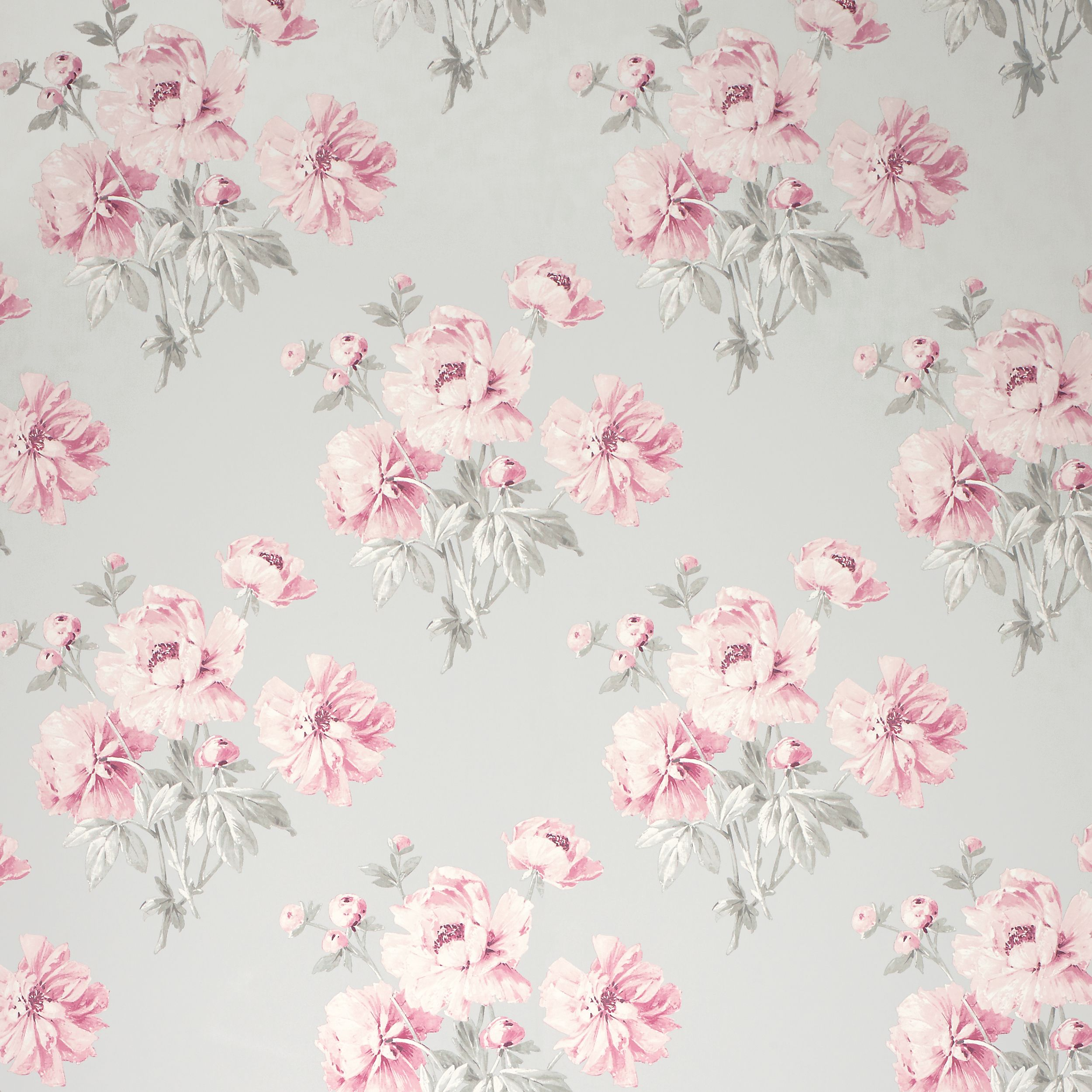 laura ashley beatrice cyclamen floral wallpaper patterns flowers pinterest floral. Black Bedroom Furniture Sets. Home Design Ideas