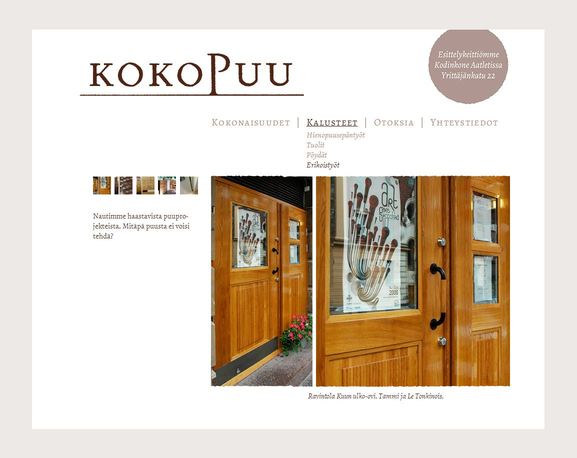 Kokopuu / www.kokopuu.fi