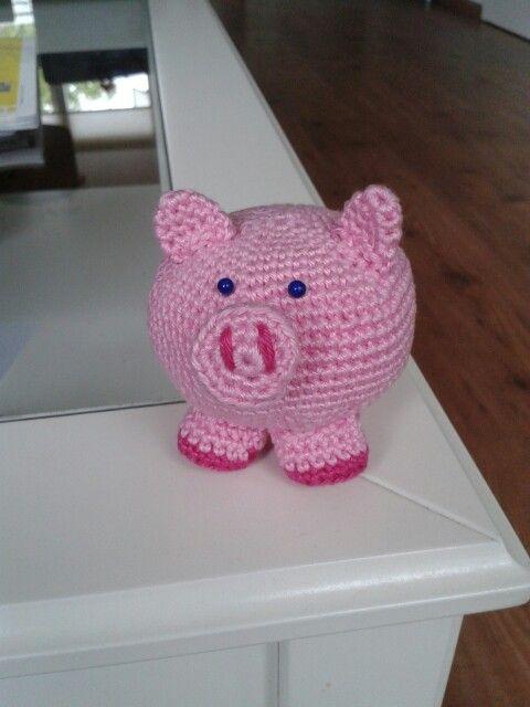 Gehaakte Varken Uit Het Boekje Van De Kruidvat Varkens Pigs