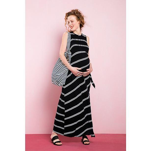 Zwangerschapskleding Cocktailjurk.Elegante Positiemode Maxi Jurk Van Ripe Wehkamp Ripe Ripe