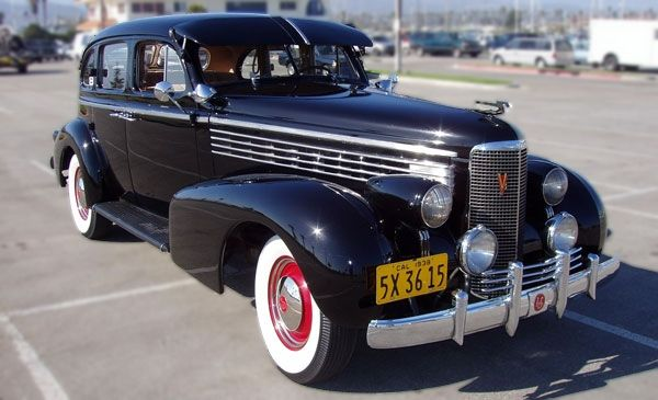 1938 LaSalle  Antique Cars  Pinterest