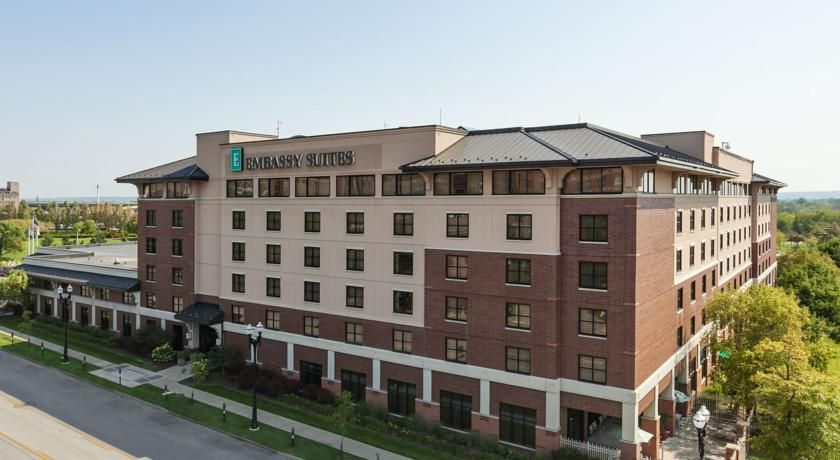 Embassy Suites Omaha Downtown Old Market Omaha Centered In The