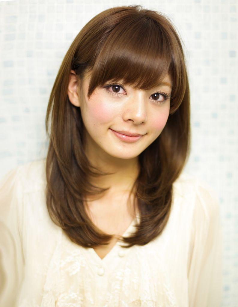 大人可愛いセミロングヘア Yr 404 ヘアカタログ 髪型 ヘア