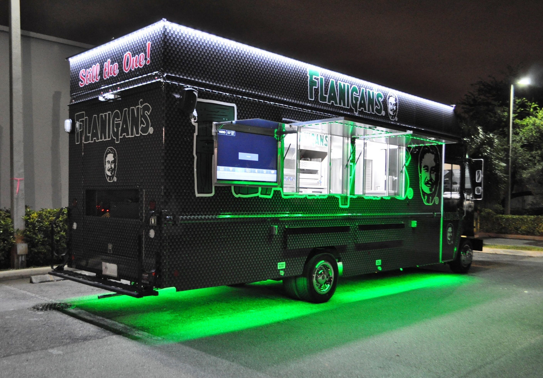 Flanigans food truck food truck design food truck menu