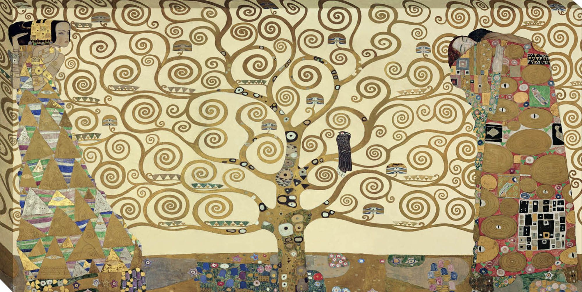 The Tree of Life by Gustav Klimt Graphic Art on Wrapped Canvas ...